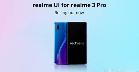 Actualización Android 10 Realme 3 Pro