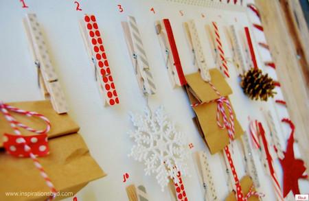 ¿El calendario de Adviento de este año?: fácil de hacer y bonito a la vez, os va a gustar