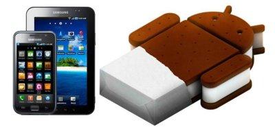 Samsung se está planteando actualizar el Galaxy S y el Tab a Ice Cream Sandwich