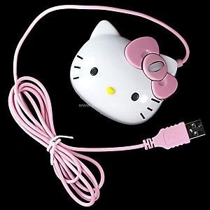 Ratón óptico de Hello Kitty