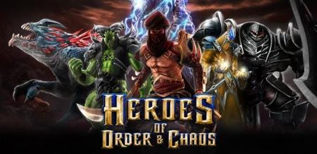 Heroes of Order & Chaos, el nuevo juego multijugador de Gameloft ya disponible para Android