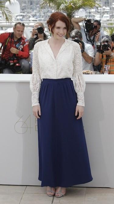 Las jóvenes brillan en el Festival de Cannes 2011