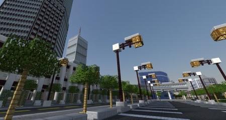 Titan City, la ciudad que ha llevado dos años construir en Minecraft