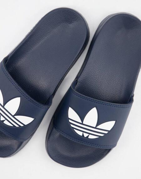 Sandalias Azul Marino Adilette Lite De Adidas Originals