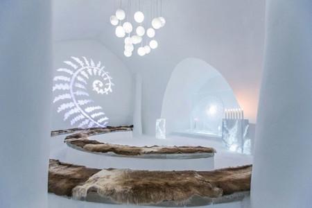 Un hotel de hielo... ¿Te atreves?