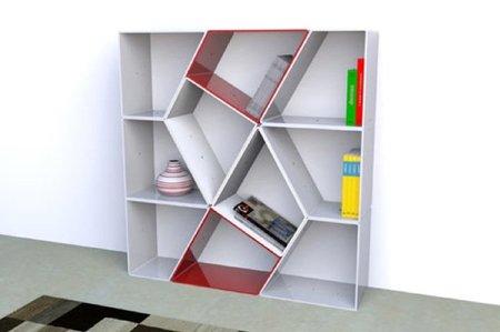 EZIOcase, otra estantería transformable y modular
