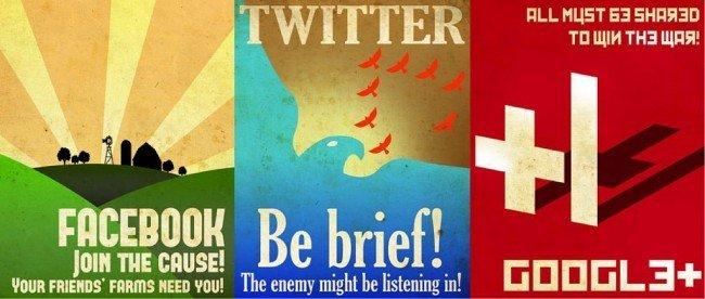 Twitter y Facebook no están copiando a Google+: sólo estamos viendo el significado de