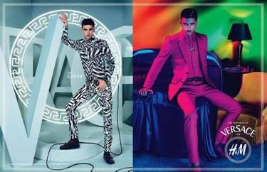 River Viiperi y Mert & Marcus nos adelantan dos nuevos looks de Versace para H&M