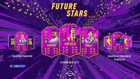 Guía FIFA 20: Equipo Future Stars 1. Todas las cartas de futuras promesas y cómo resolver los desafíos de FUT 20
