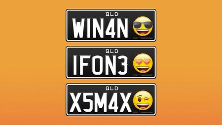 Las placas en Australia ya pueden llevar emojis