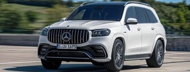 Mercedes-AMG GLS 63: un departamento de lujo con ruedas de 603 hp y motor V8 biturbo