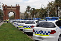 60 nuevos Seat Toledo para la Guardia Urbana de Barcelona
