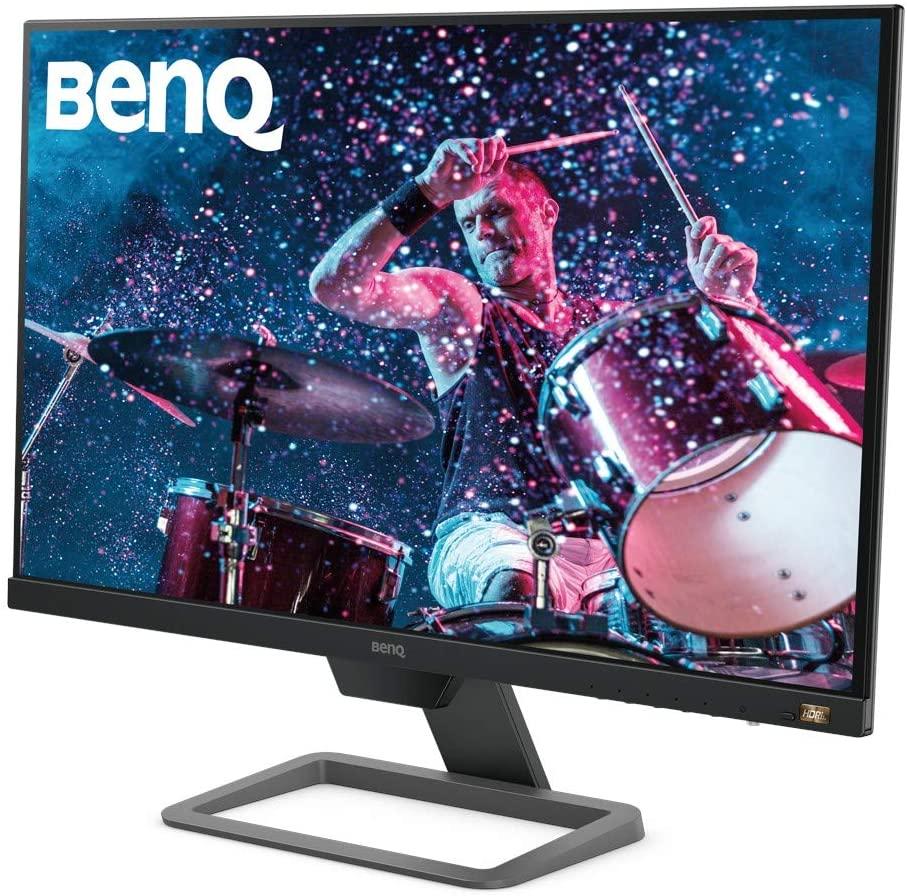 "BenQ EW2780 - Monitor de 27"" FullHD (1920x1080, 5ms, 75Hz, 3x HDMI, IPS, HDRi, FreeSync, Altavoces, Eye-care, Sensor Brillo Inteligente, Flicker-free, antireflejos, sin marco, VESA) - Gris"