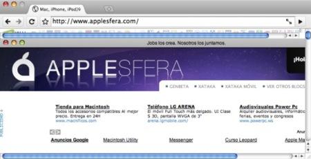 Chromium da sus primeros pasos en Mac OS X