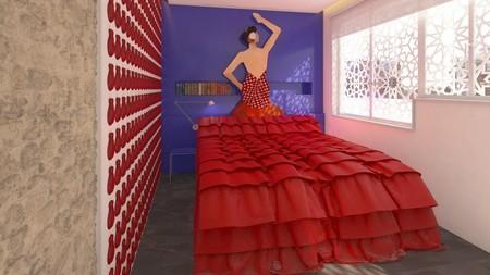 Ahora puedes alojarte en la Feria de Abril en una habitación con aires de caseta del Real