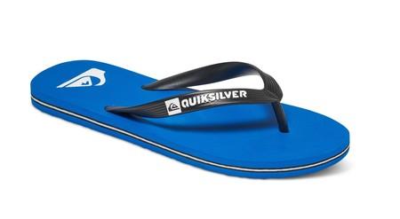 Chancletas Quiksilver Molokai en azul o negro por 9,95 euros con envío gratis en eBay