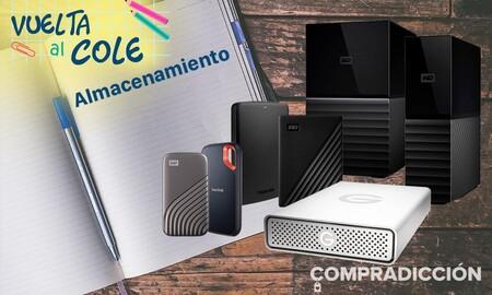 Vuelta al cole 2021: ahorra en almacenamiento extra para tu PC, tu portátil o tu consola con estas ofertas en Amazon y MediaMarkt
