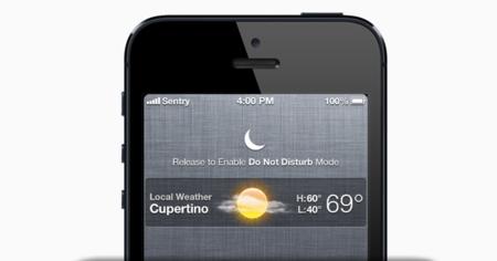 Nuevo concepto para activar No molestar de iOS del creador de Auxo