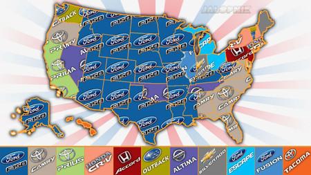 Los coches más vendidos en Estados Unidos, de forma gráfica