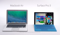 Microsoft se lanza contra Apple, cree que la MacBook Air no es competencia de su Surface Pro 3