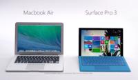 Microsoft se lanza contra Apple, cree que la MacBook Air no es competencia de su Surface Pro 3