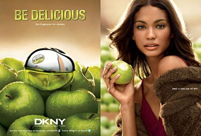 Dos nuevas caras para el perfume Be Delicious de DKNY