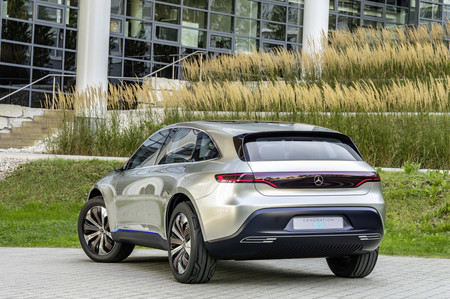SUV eléctrico Mercedes EQ