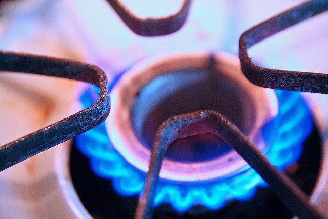 Gas ciudad en combustión