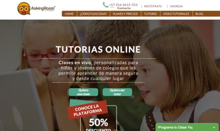 Askingroom.com, el sitio web que quiere mejorar el rendimiento de los estudiantes