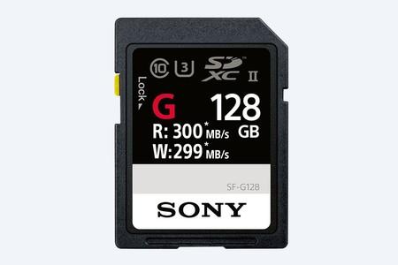 La tarjeta SD más rápida del mundo está aquí, es de Sony y ofrece 299 MB/s de escritura y 300 MB/s de lectura