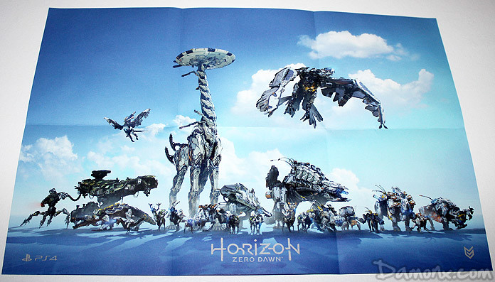 Kit de prensa Horizon Zero Dawn