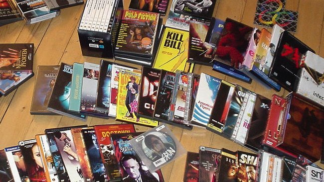 discos dvd películas