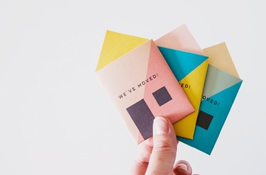 ¿Estrenas casa? ¿Te mudas de barrio? Avisa e invita a tus amigos con estas bonitas tarjetas