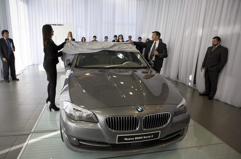 Foto de BMW Serie5 presentación estática en Madrid (3/9)