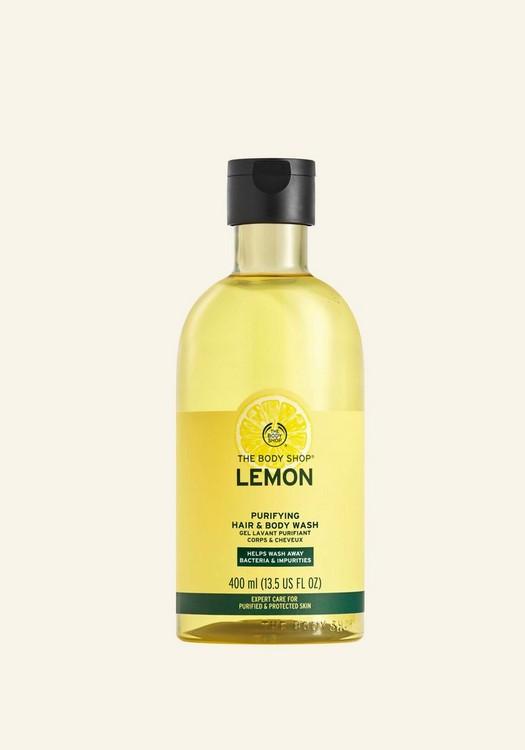 Gel para Cabello y Cuerpo Purificante de Limón