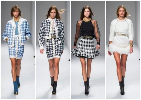 Tendencias pv minifalda 2014 balmain