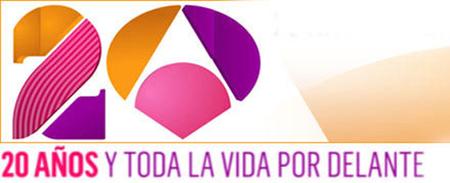 20 años de Antena 3 con refritos nostálgicos