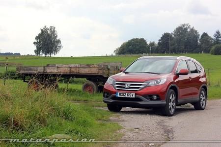 Honda CR-V, presentación y prueba en Múnich (parte 1)