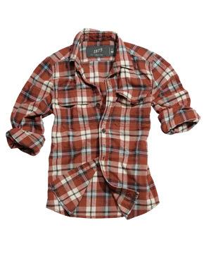 Camisa tartán