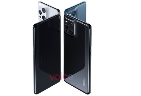 Conception d'Oppo Find X3 Pro