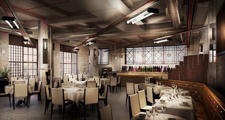 """El """"Union Street Café"""" de David Beckham y el chef Gordon Ramsay"""