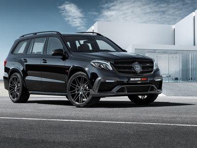 Brabus lleva la Mercedes-AMG GLS 63 a 850 hp, por si un SUV necesita llegar a 300 km/h
