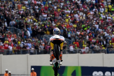 Brad Binder Moto3 World Champion 2016