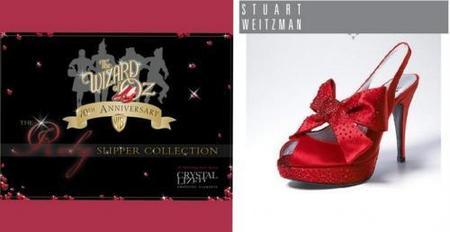 Zapatos de lujo para la Dorothy del Mago de Oz del siglo XX