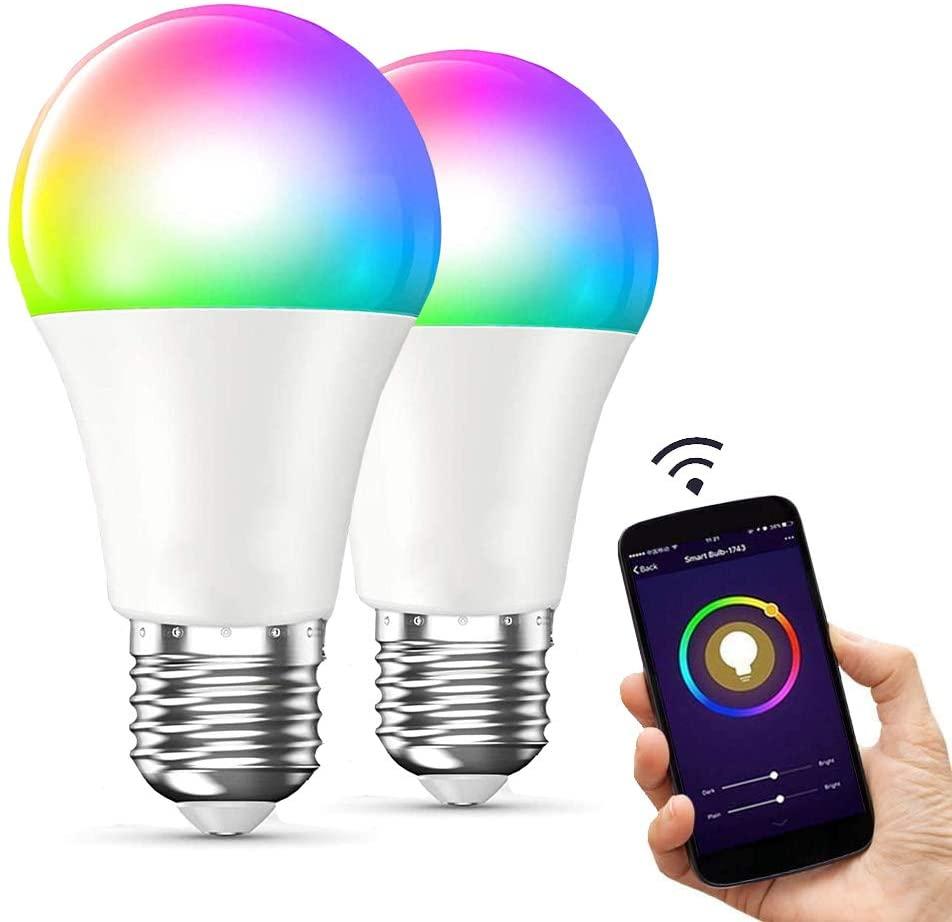 2 Focos inteligentes RGB marca EASYTAO