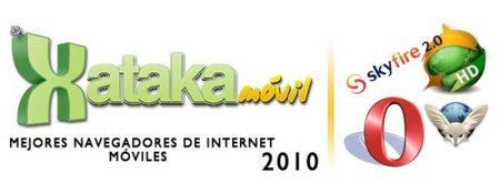 Lo mejor de 2010: Navegadores de Internet móviles del año