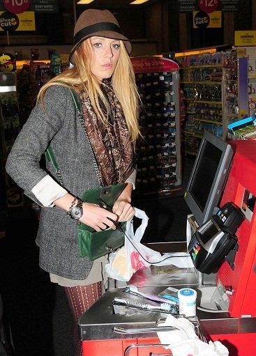 ¡Si Blake Lively se pone el gorro es que se va de compras!