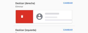Cómo personalizar la acción al deslizar en Gmail para Android