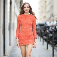 El street style de Paris se tiñe de naranja, ¡Orange is the new black!