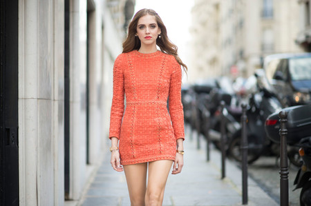 El street style de Paris se tiñe de naranja, ¡Orange is the new black!